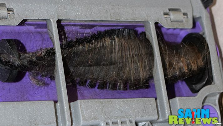 Living with three females, all with long hair is not something I wish on anyone. The Eureka Brushroll Clean should hopefully make the situation better. - SahmReviews.com