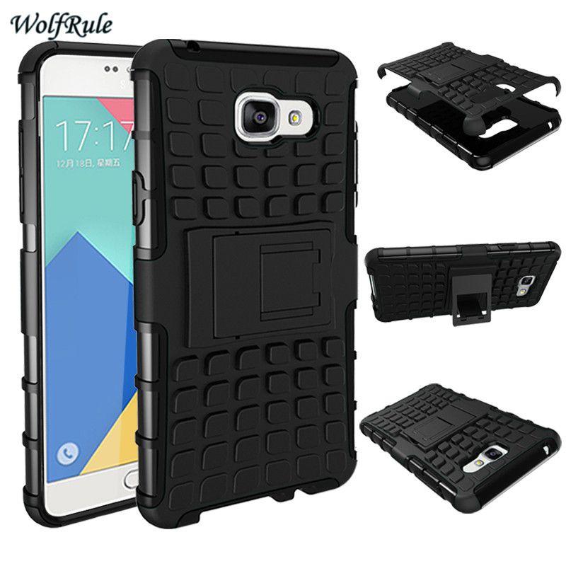Do Samsung Galaxy A5 2016 Case Miekka Guma Hybrid Pc Uchwyt Stojak Okladka Case Do Samsung A5 2016 Case Phone Silicone Phone Case Rubber Case