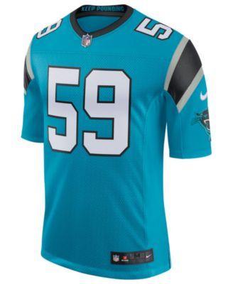 985f54455c35b Nike Men s Luke Kuechly Carolina Panthers Vapor Untouchable Limited Jersey  - Blue XXL