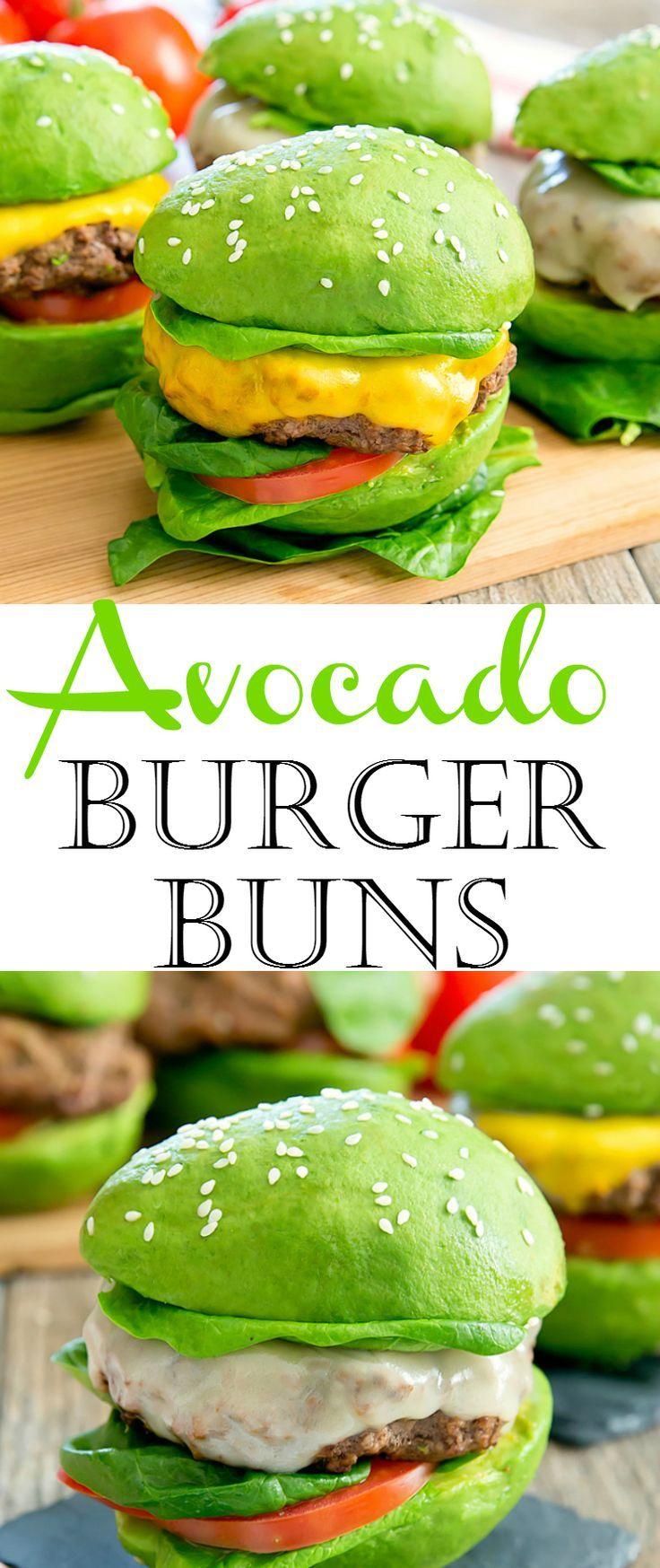 Avocado Burger Brötchen