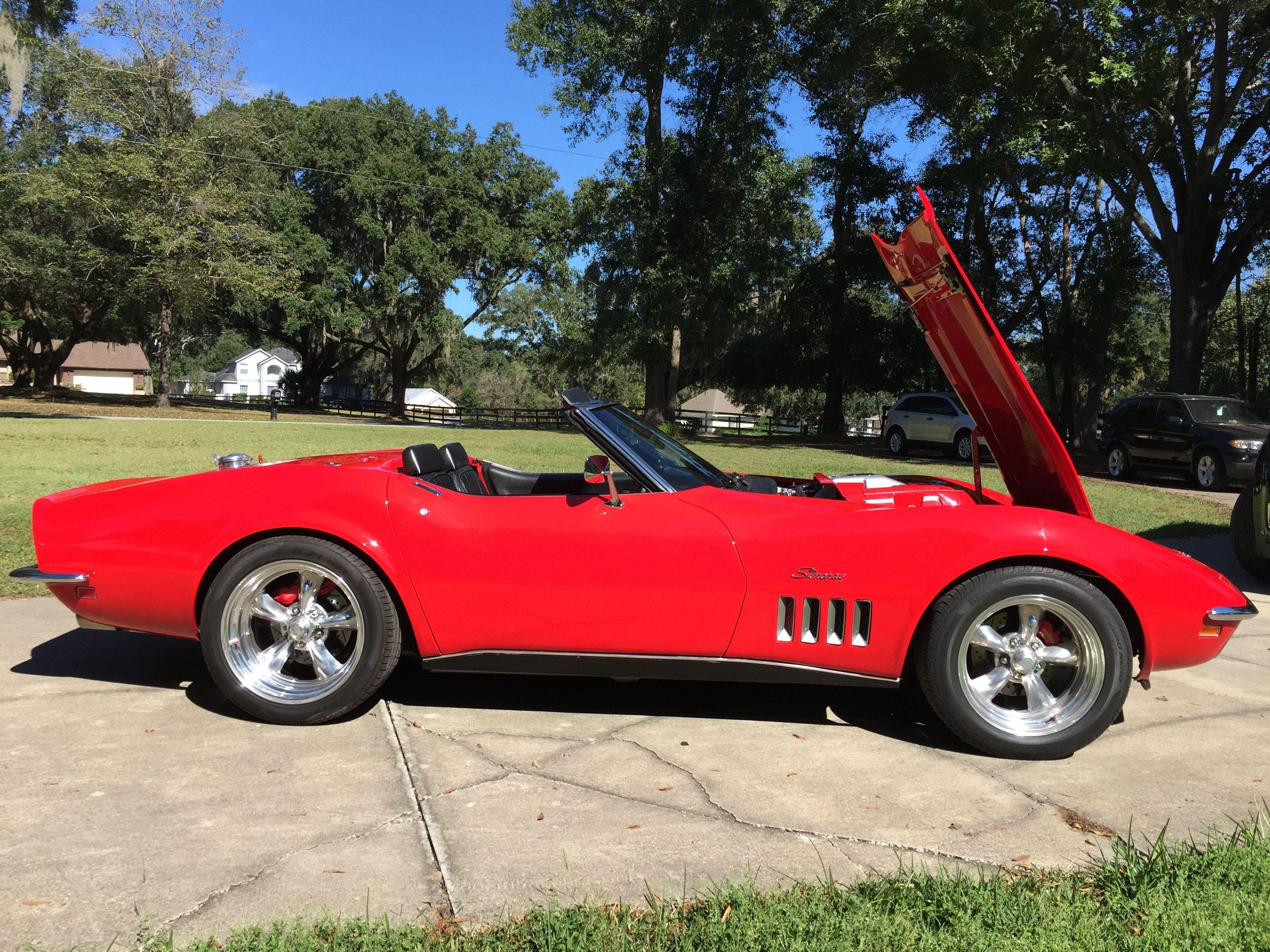 1969 Corvette Restomod   Gspot   1969 corvette, Corvette