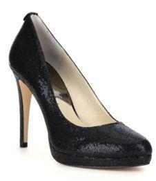 9fb61bd752 MICHAEL Michael Kors Georgia Glitter Pumps | Things to Wear | Shoes ...