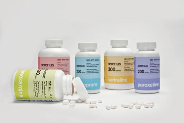 Antidepressants (Student Project) on Packaging of the World - Creative Package Design Gallery