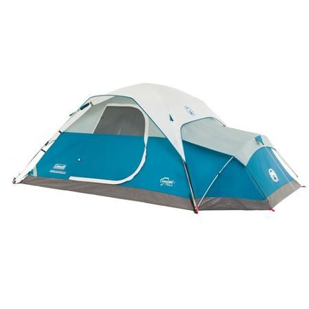 Coleman Juniper Lake 4 Person Instant Dome Tent With Annex Walmart Com Best Tents For Camping Family Tent Camping Backpacking Tent