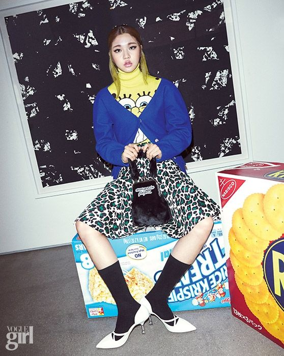 VOGUE GIRL Korea November 2014