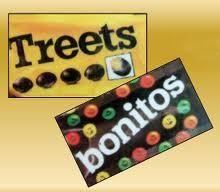 Als ik met de trein van Alkmaar naar mijn vader in Hengelo ging kreeg ik geld om wat te kopen. Soms onderweg, of zoals vroeger in Amstersfoort vanuit het raam. #Treets of een zakje #Bonitos. Een groot genot tijdens de lange reis. De Treets net zo lang op je tong laten smelten zodat het suikerlaagje eraf ging, dan de warme chocolade opzuigen als laatste het nootje fijnmalen.