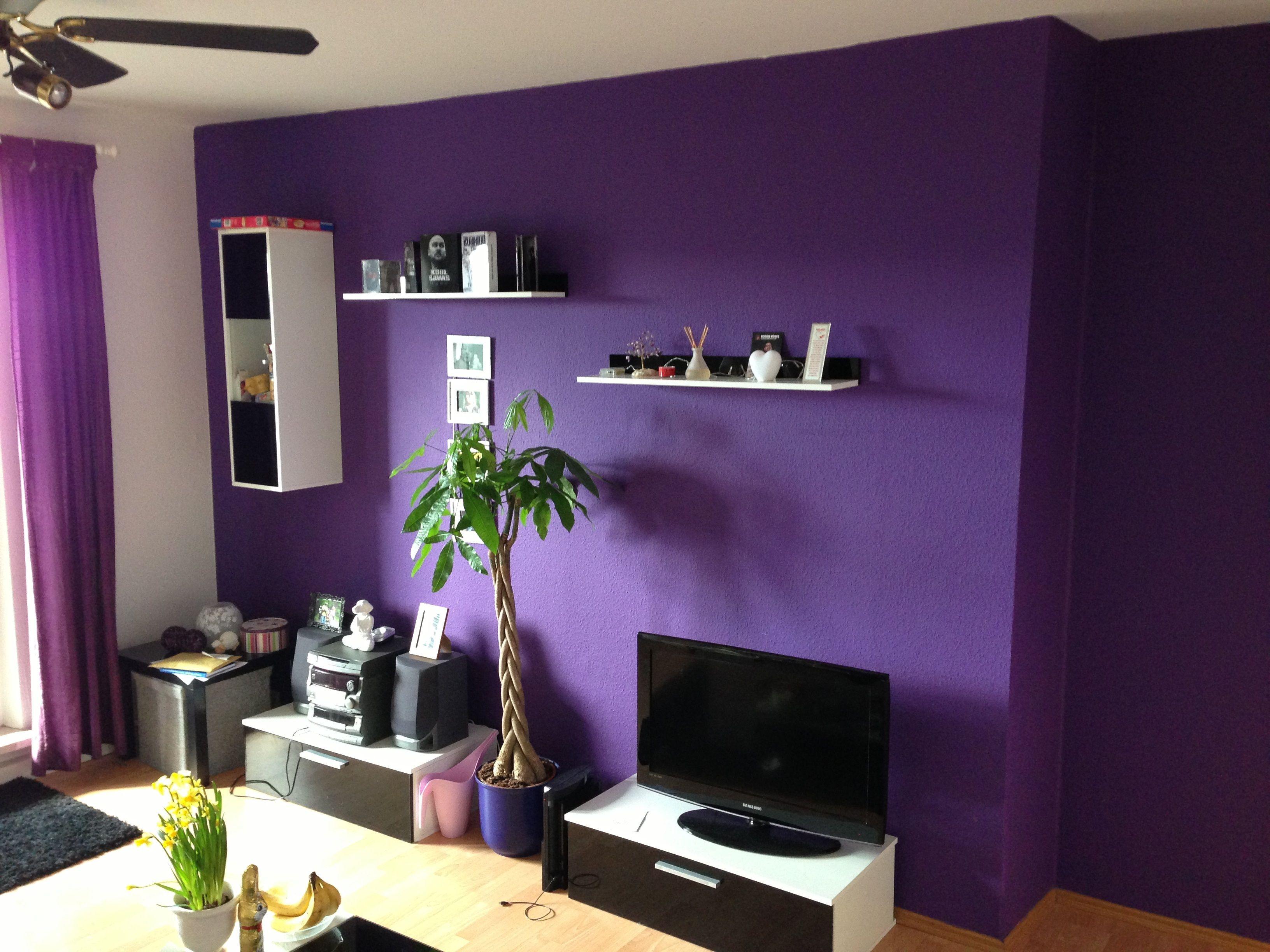 wohnzimmer streichen lila | Deko ideen schlafzimmer ...