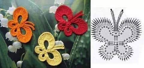 Farfalla semplice