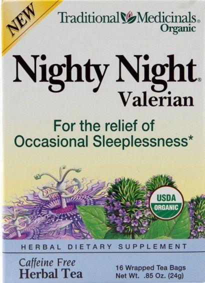 Traditional Medicinals Organic Nighty Night with Valerian  9b3f411af