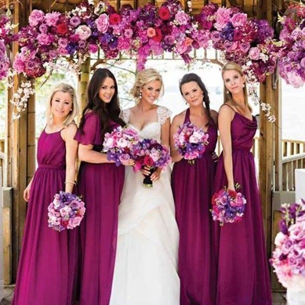 Absolutely In Love With Breathtaking Tyrian Purple Color Palette
