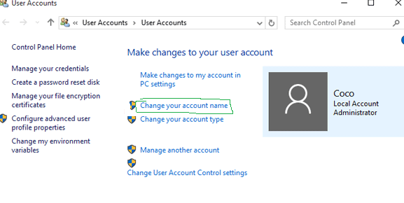 How To Change Administrator On Windows 10 Administration Windows 10 Change