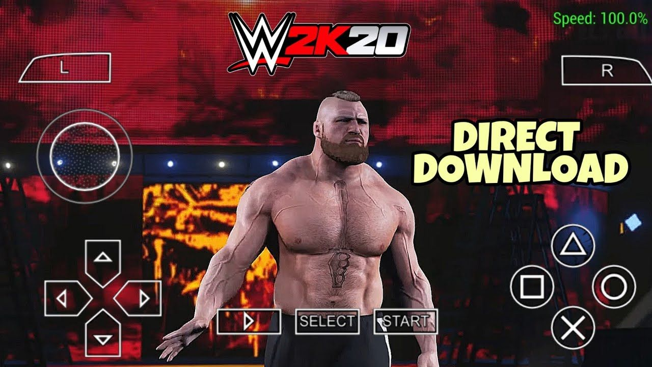 [475mb] WWE 2K20 Android PSP Full Game Best Mod Download