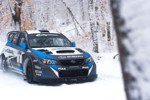 Driving Subaru's WRX STI Rally Car Will Melt Every Part Of Your Brain