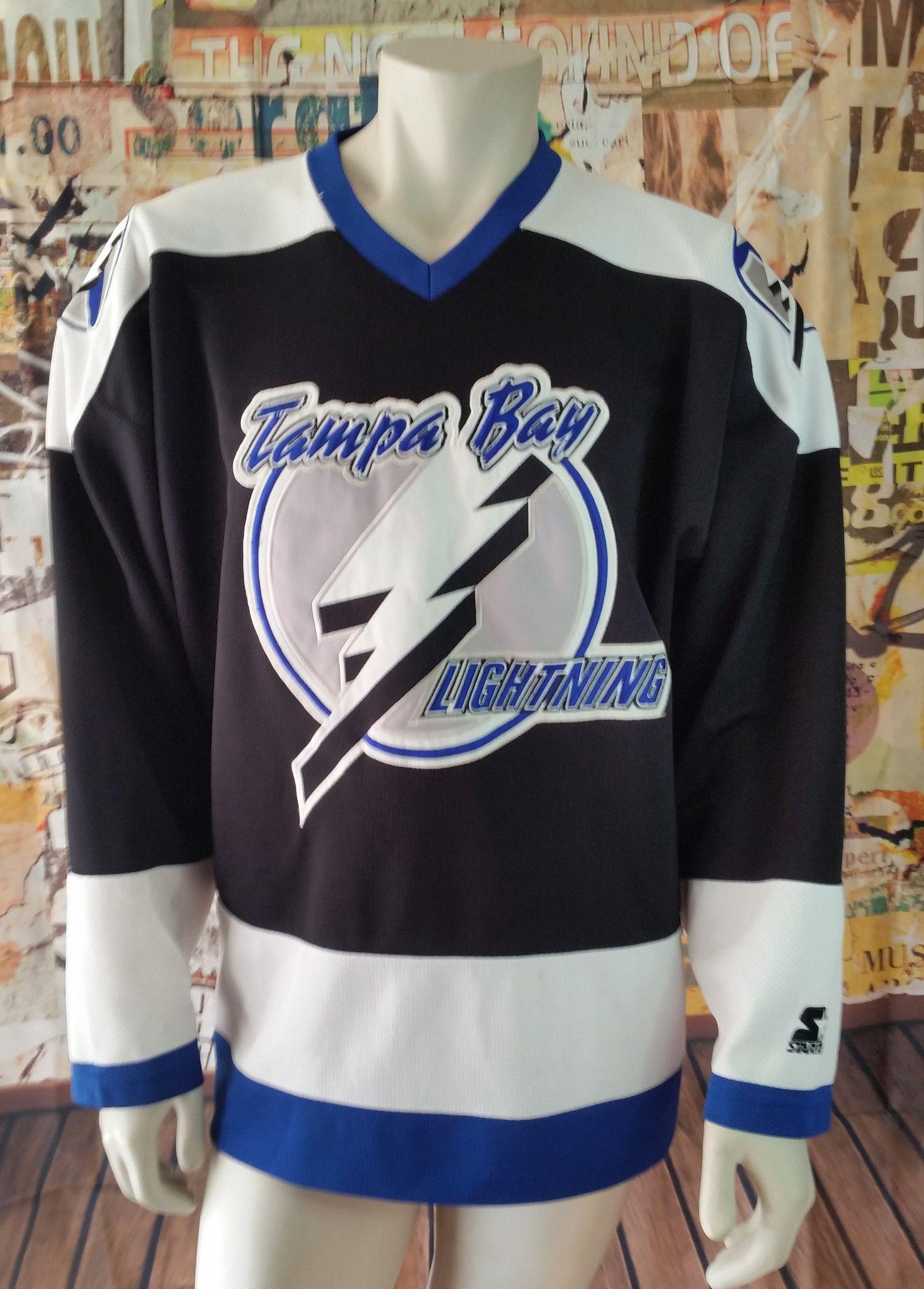 vintage tampa bay lightning jersey