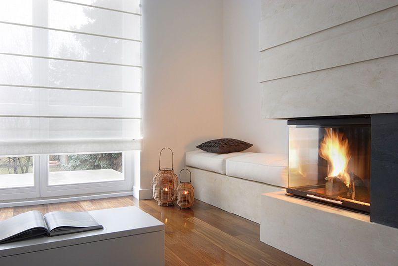 Siedzisko Przy Kominku Home Family Living Rooms Fireplace