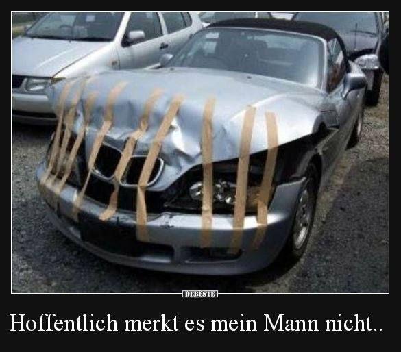 Pin Von L Auf Lustig Lustig Lustige Autos Auto Witze Lustig