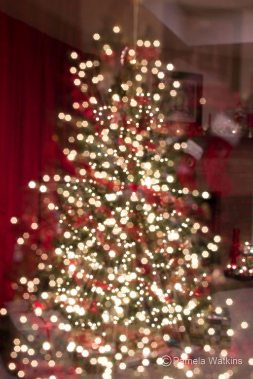 Bokeh Zoom Burst Christmas Tree Christmas Wallpaper Holiday Decor Christmas Tree