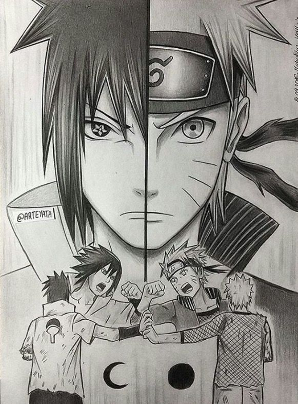 Pin By Raven Vargas On Art Ideas Naruto Sketch Naruto Drawings