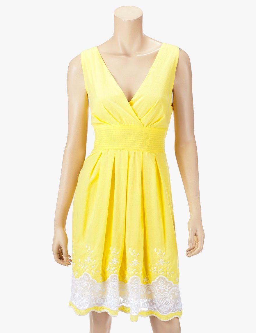 Corey P. Embroidered Surplus Dress