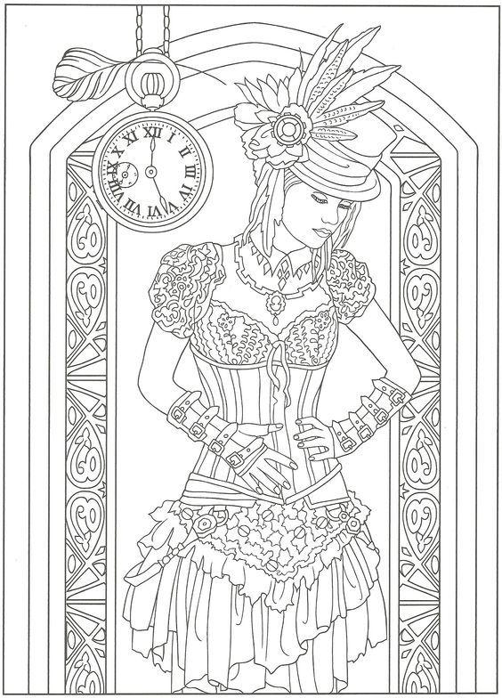 Pin de Lea Salminen en steampunk stamps | Pinterest | Páginas para ...