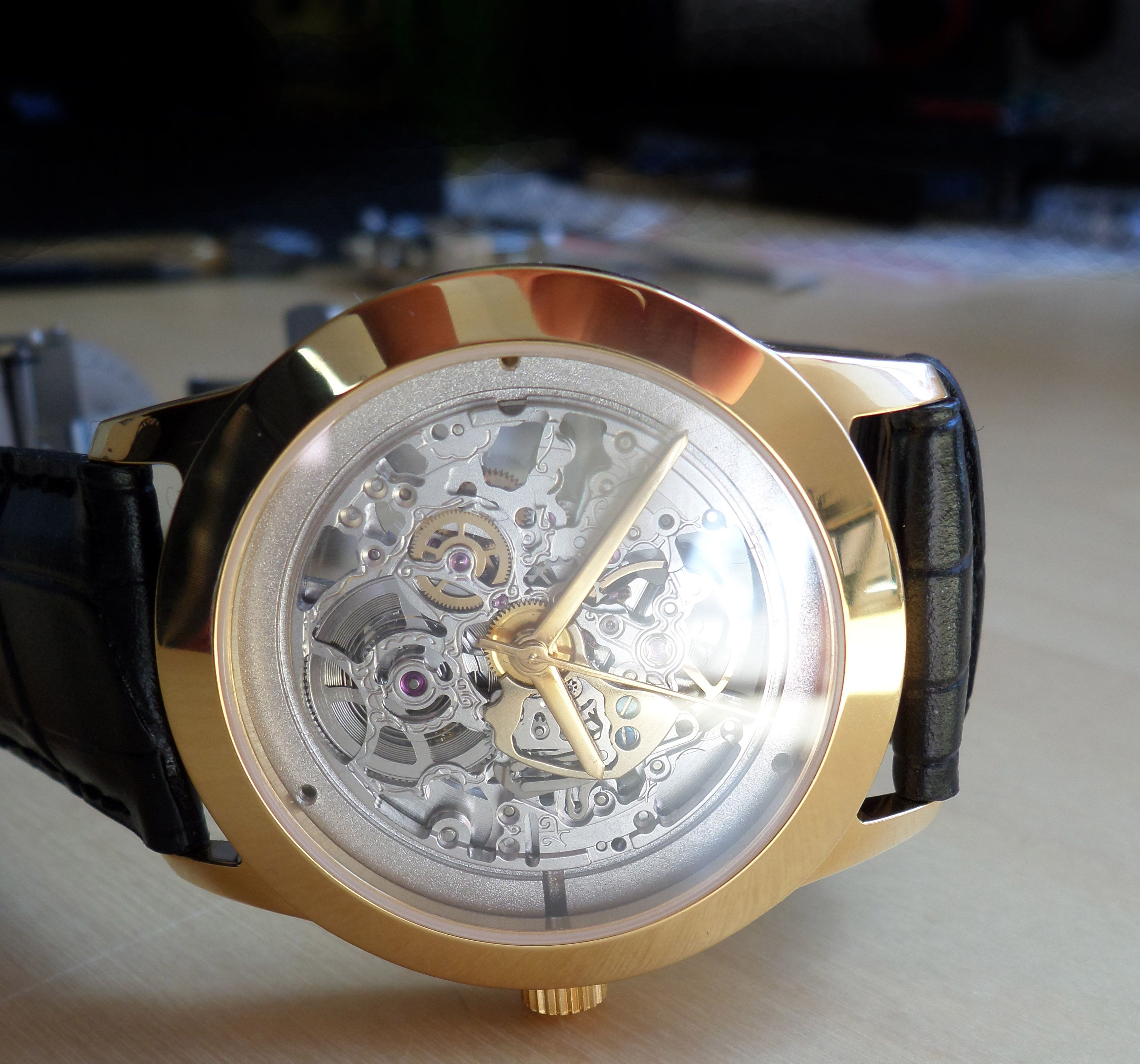Tailor-made watch by MB Watches www.mb-watches.com