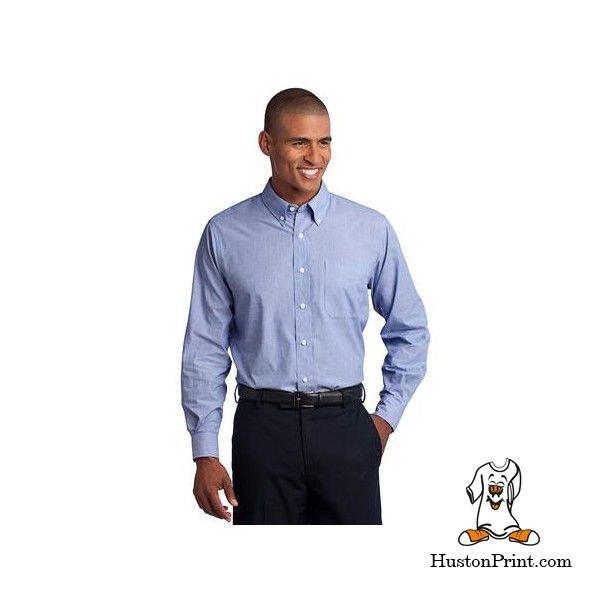 Port Authority Crosshatch Easy Care Shirt S640 Learn More At Http