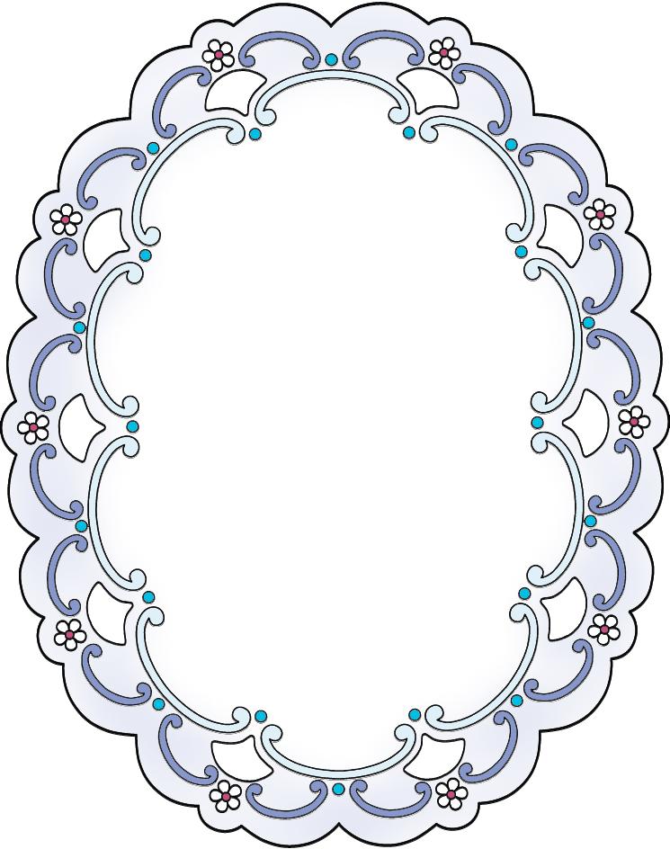 Oval Borders and Frames | Joy Rocks | Pinterest | Oval frame, Frame ...