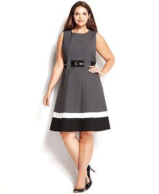Calvin Klein Plus Size Formal Dresses