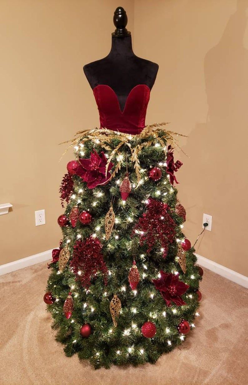 Mannequin/ Dress Form Christmas Tree ***PLEASE ORD
