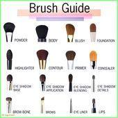 Photo of 50+ Makeup – Makeup Brushes # Halloween Facial Makeup # SkinMakeup # MakeupK …