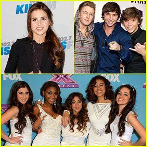 Fifth Harmony, Carly Rose Sonenclar, & Emblem3: Signing to