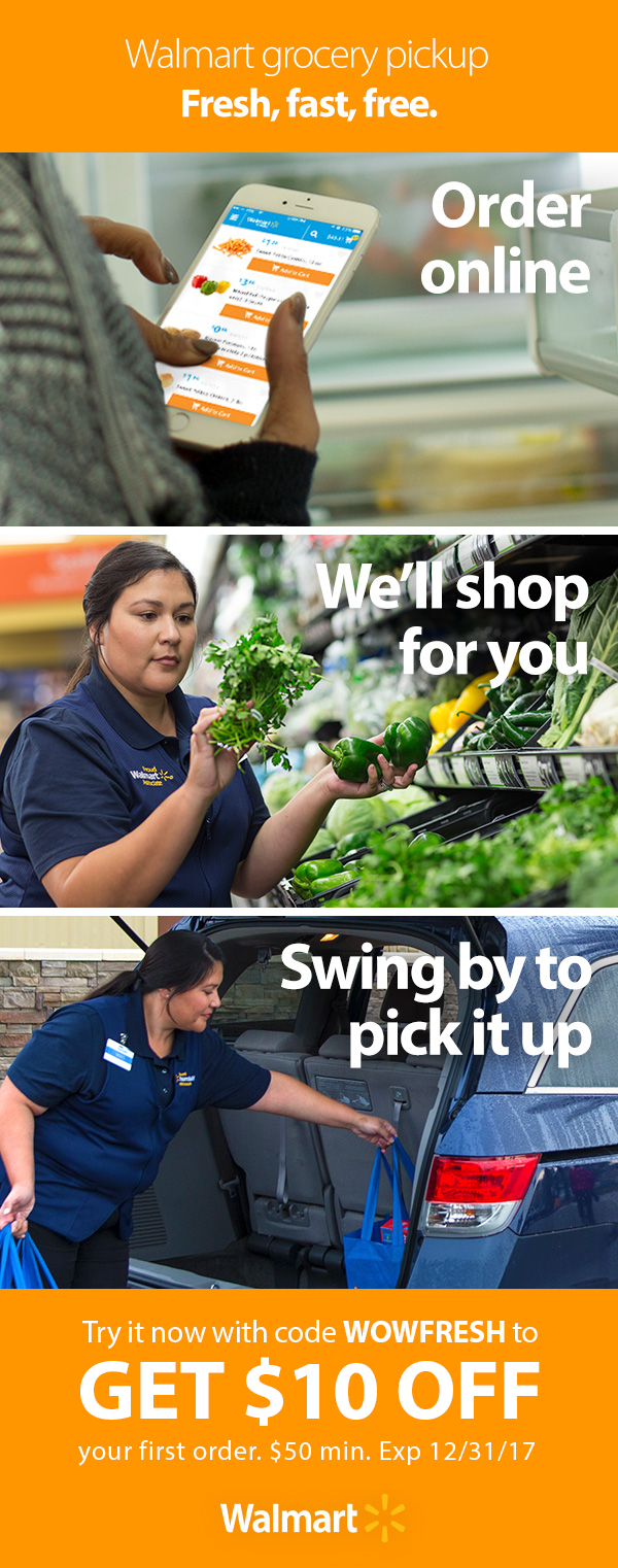 Shop anytime, anywhere. Choose a convenient pickup time