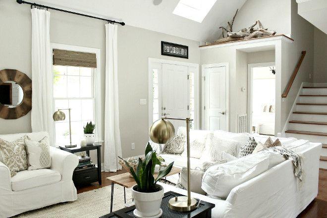 Best Benjamin Moore Hc 173 Edgecomb Gray Home Interior Open 400 x 300