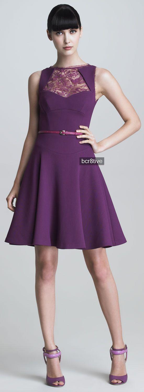 Elie Saab Sleeveless Crepe Flounce Dress on Neiman Marcus | vestidos ...