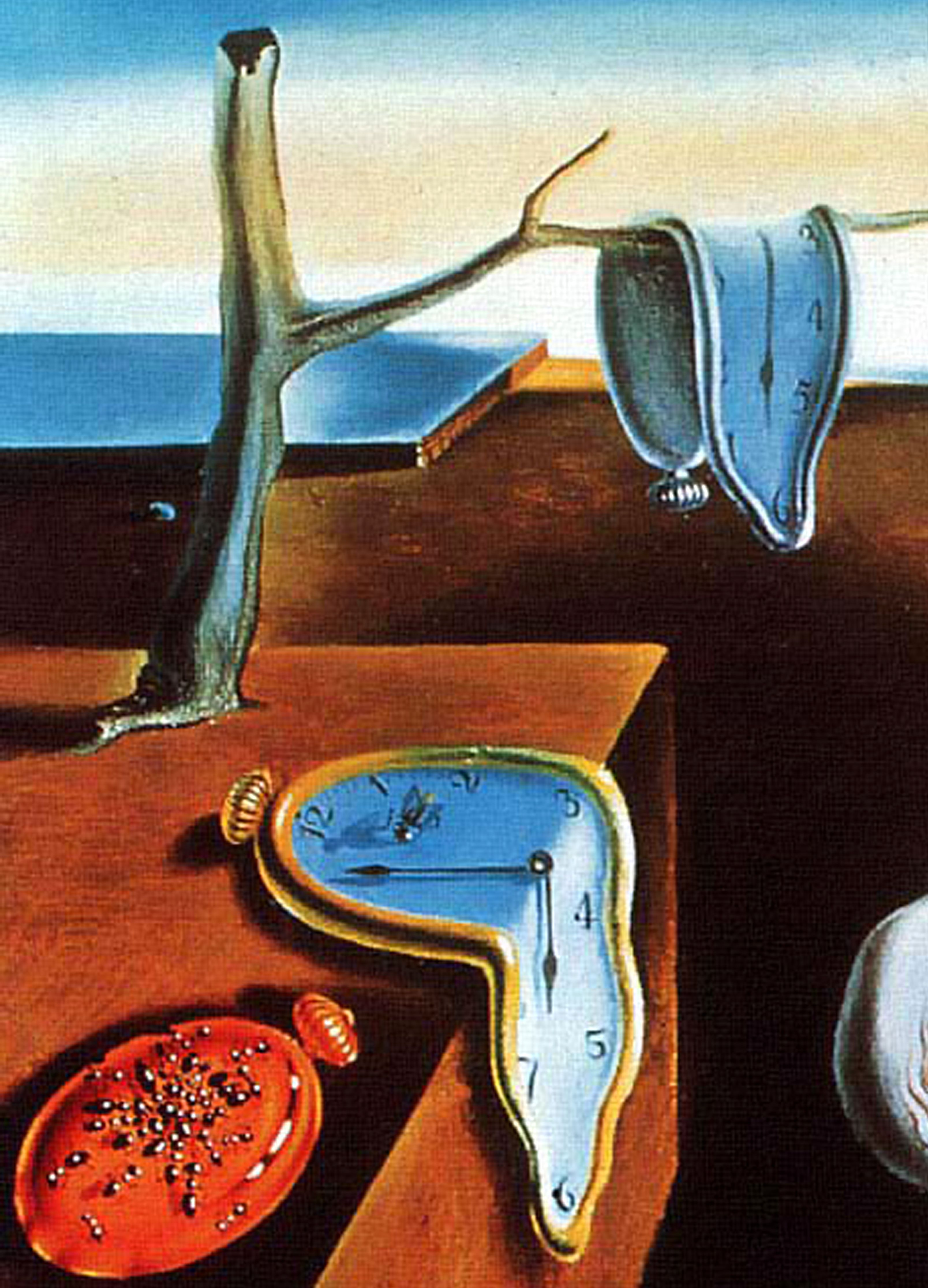 Salvador Dali, The Persistence of Memory (Surrealist: 1931) also ...