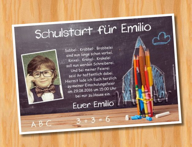 einladungskarten mit foto kindergeburtstag elegant etuis