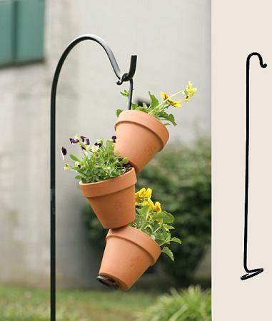 Pinterest & GARDEN: Flower Pot Rings Plant Hooks Sheppard\u0027s Hooks ...
