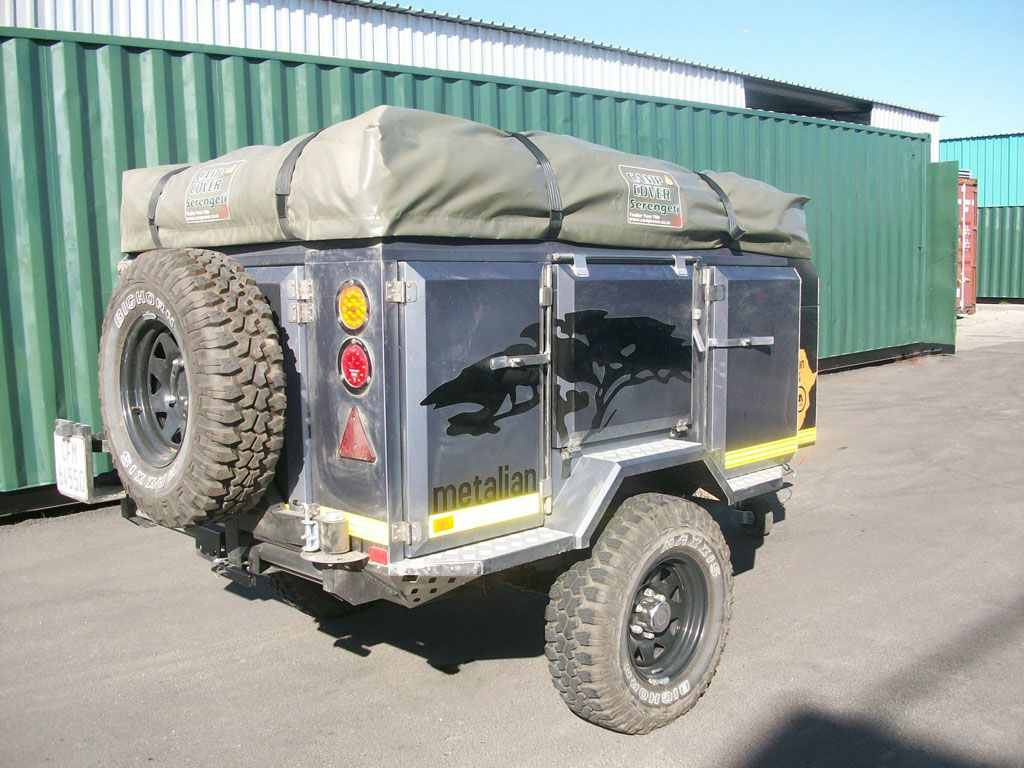 Metalian Maxi (With images) Camping trailer, Off road