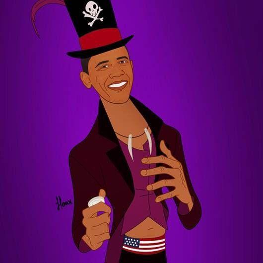 Saint Hoax. Obama