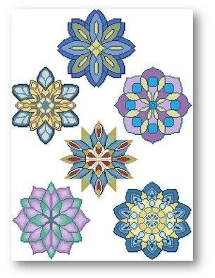 mandala | Product Tags | Cross Stitch Art