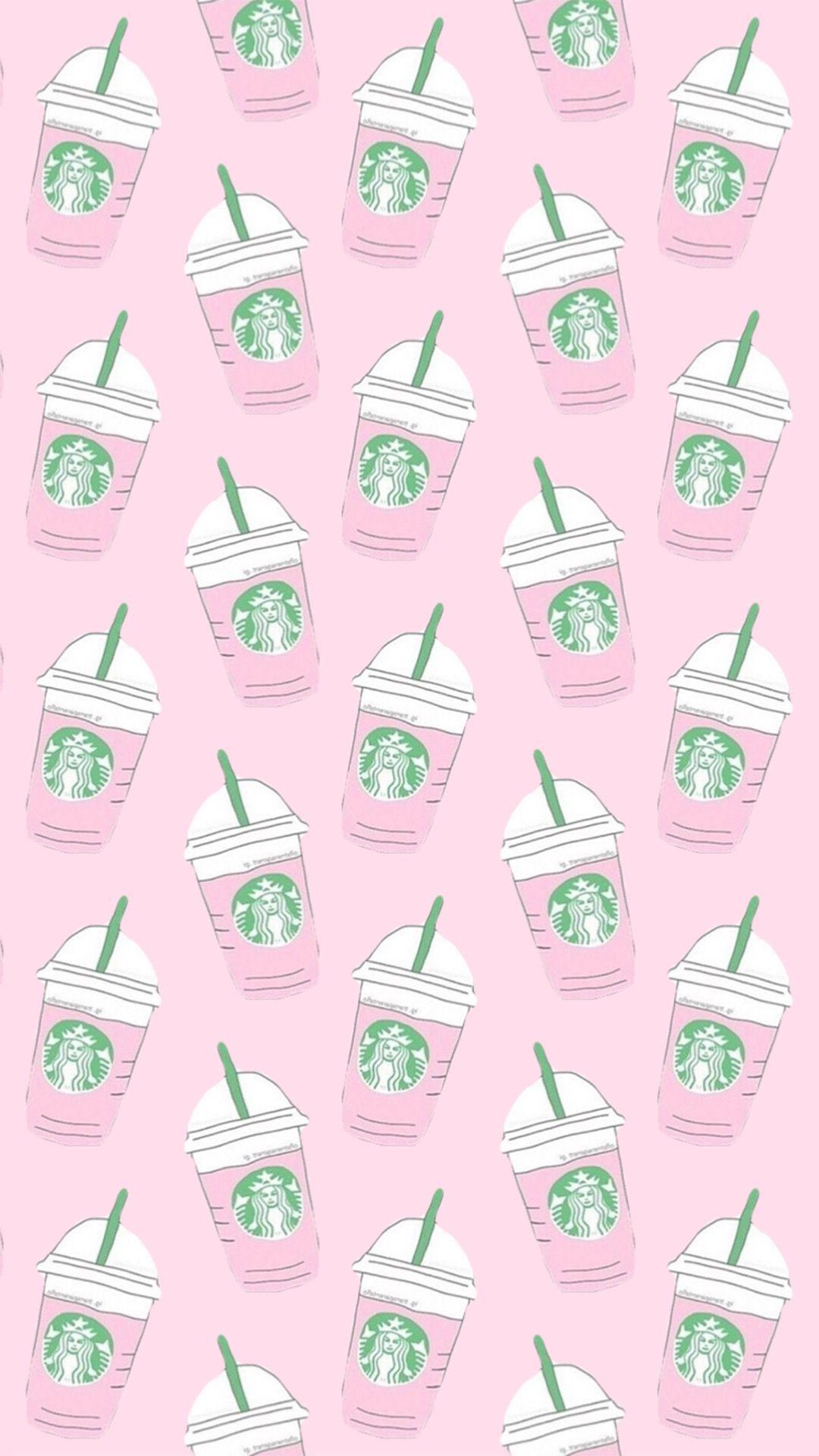 Pink Starbucks Wallpaper Starbucks Wallpaper Wallpaper Iphone Cute Pretty Wallpaper Iphone