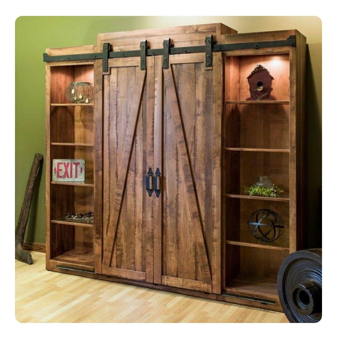 Wood entertainment center by Dawn Holmes on DIY Furniture
