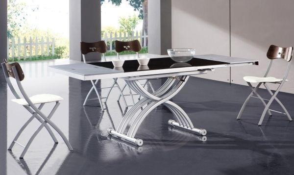 Moderne Esszimmermöbel Ideen klappstühle auszieh esstisch | Eßtische ...