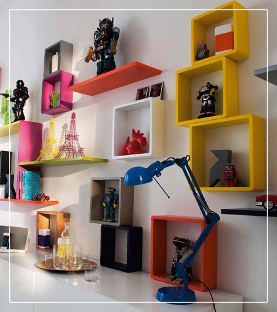 3 Cubes Blanc Form Lima 30 Cm Rangement Mural Cube Rangement Etagere Cube