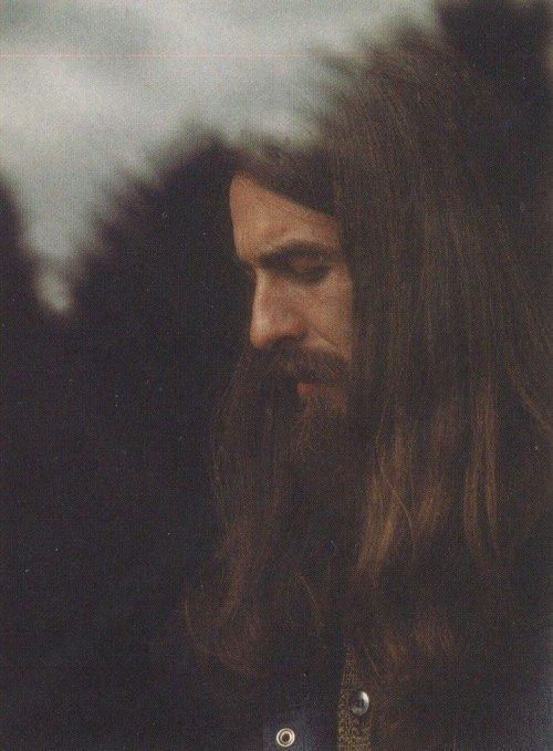 George 1970 With The Beautiful Long Hair Fabulous Picture Of