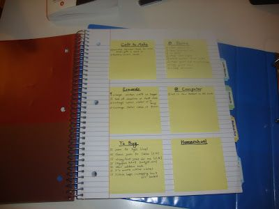 Planning On It: Getting Things Done - Great post on making a home management notebook, GTD style.