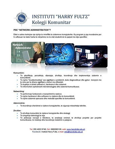 """Foto: Pse """"Network Administration""""?"""
