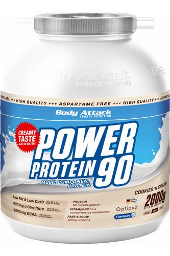Power Protein 90 Mit Whey Und Casein Body Attack Eiweisspulver Rezepte Fitness Bodybuilder