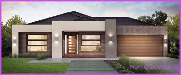 Nice Single Story Home Designs