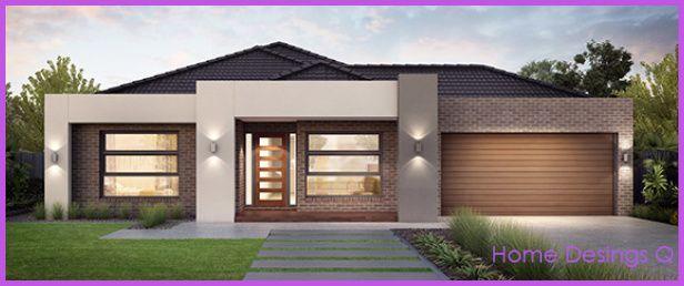 House · Nice Single Story Home Designs
